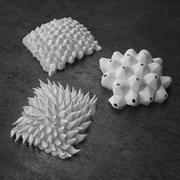 Conjunto de escultura 3d model