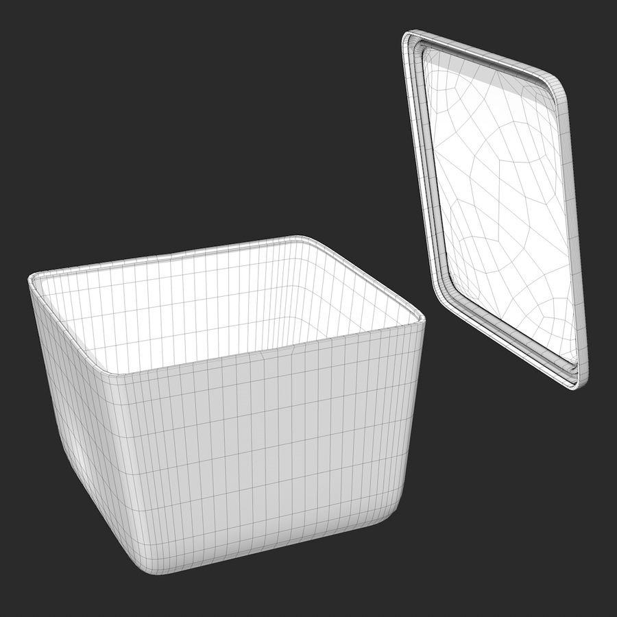 Gıda Kabı royalty-free 3d model - Preview no. 8
