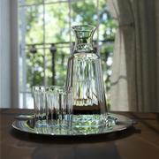 графин и стаканы 3d model