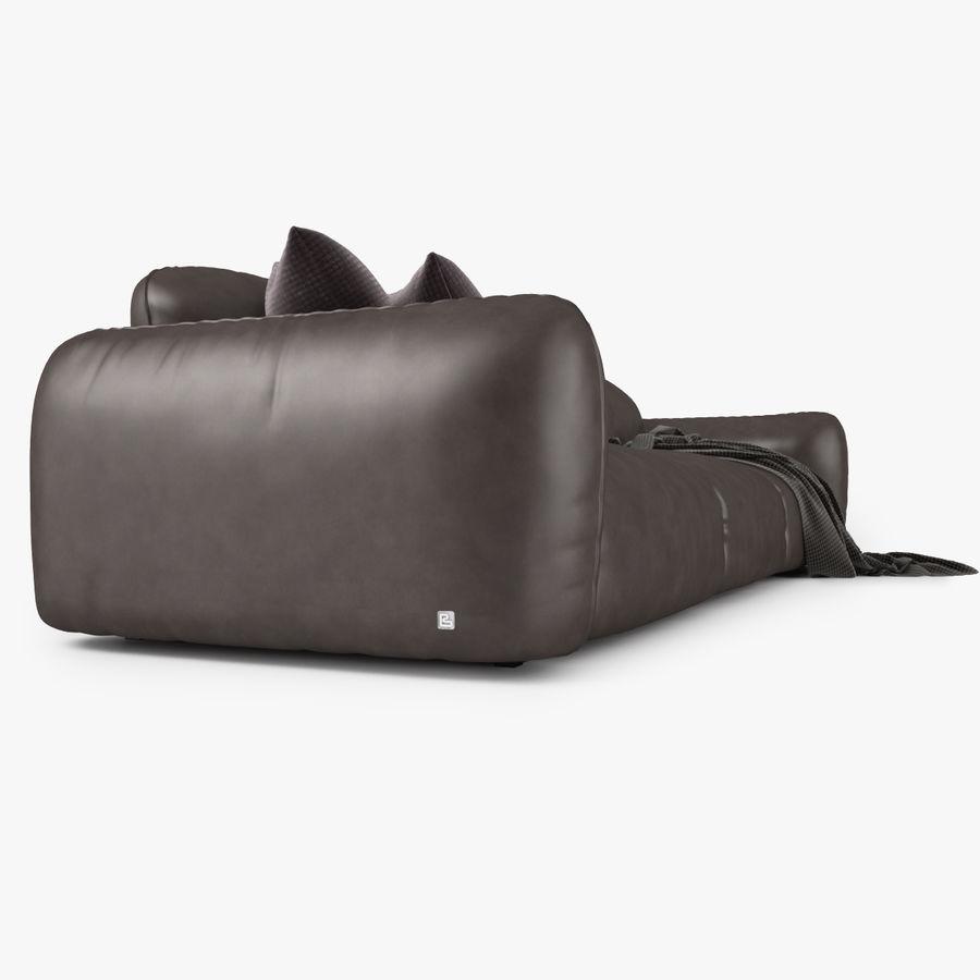 Busnelli Piumotto08 Bank en fauteuil royalty-free 3d model - Preview no. 4