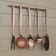 Cookware utensils 3d model
