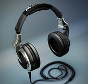 先锋HDJ-2000 DJ耳机 3d model