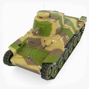 Tank Tipi 95 Chi-Ha 3d model