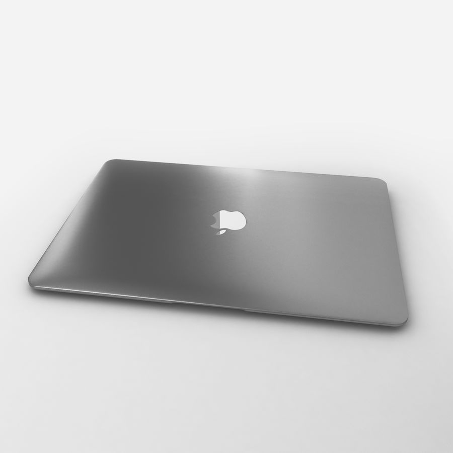 Macbook 2015 royalty-free 3d model - Preview no. 11