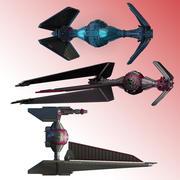 TIE Fighter Concept 3d model