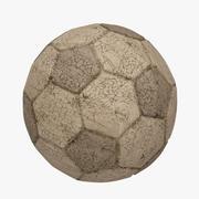 Football (Soccer Ball) Dirty 3d model