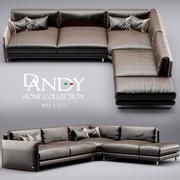 Sofa Dandy Domowy nastrój 3d model