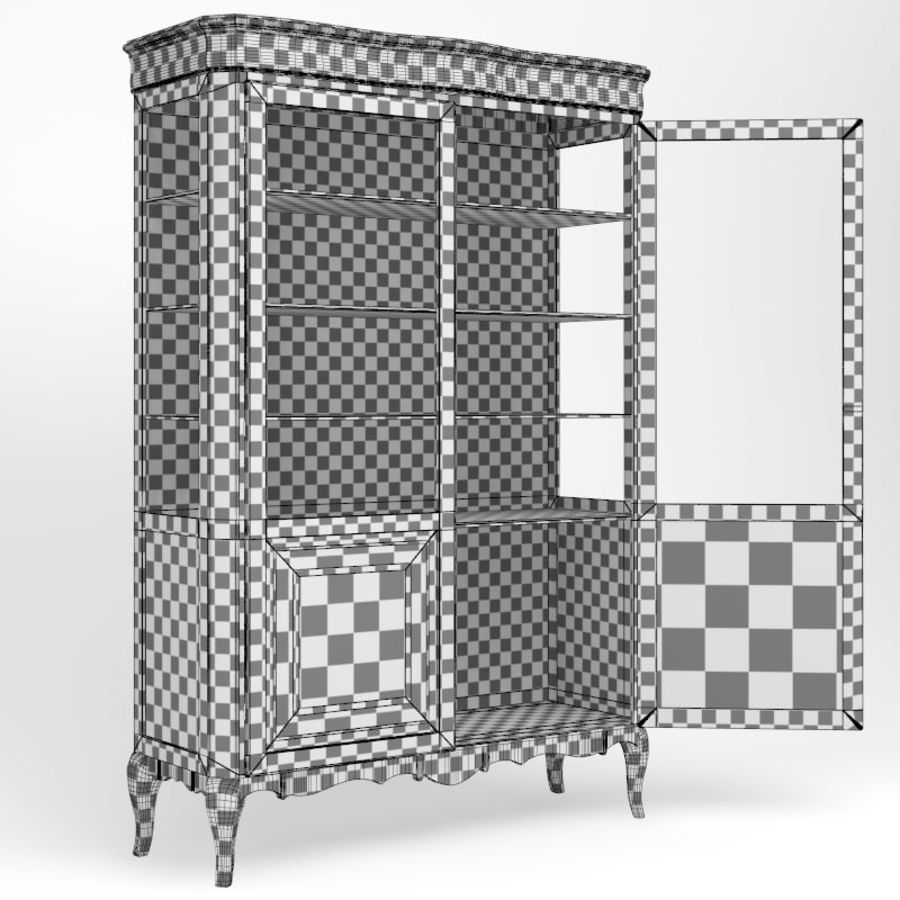Vitrine royalty-free 3d model - Preview no. 7
