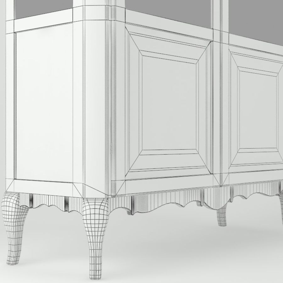 Vitrine royalty-free 3d model - Preview no. 4