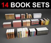 Livros 14 3d model