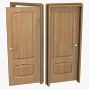 Masif Ahşap Kapı 3D Modeli 3d model