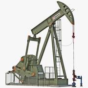 油ポンプジャックリグ 3d model