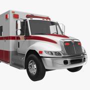 インターナショナルデュラスター救急車 3d model
