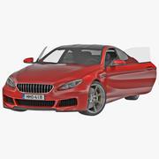 Универсальный седан 3d model