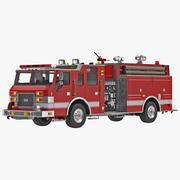 Sprzęt strażacki 3d model