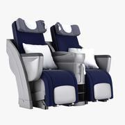 Posto Lufthansa in Business Class 3d model