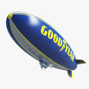 Bra år Blimp 3d model