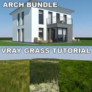 Tutoriel Maison et herbe 2 (2) 3d model
