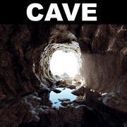 Пещера 3d model