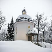 サイレントナイトチャペルの冬景色 3d model