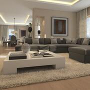 Livingroom 3 3d model
