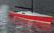 帆船游艇 3d model