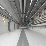 Industriell hall 3d model