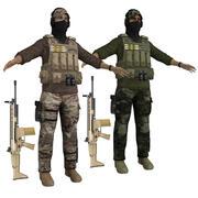 Special Ops Agents 3d model