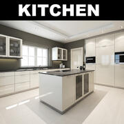 Cozinha 002 3d model