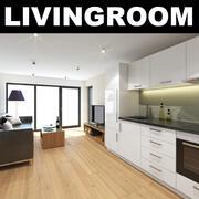 Livingroom 6 3d model