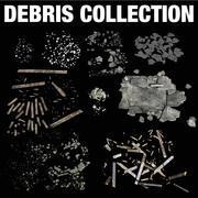 Recolección de escombros modelo 3d