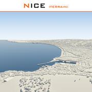 Nice City Terrain Complete 3d model