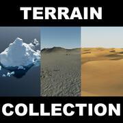 Terrain Collection 2 (2) 3d model