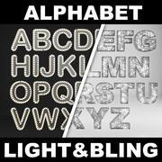 Alphabet Letters CGW 3d model