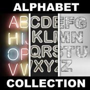 アルファベット集 3d model