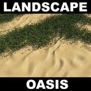 Pustynna dżungla 3d model
