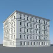 Edificio de la ciudad 4 modelo 3d