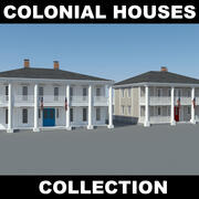 Colonial House Collection 3d model