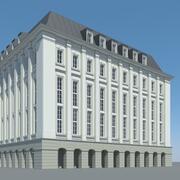 Bâtiment de la ville 3d model