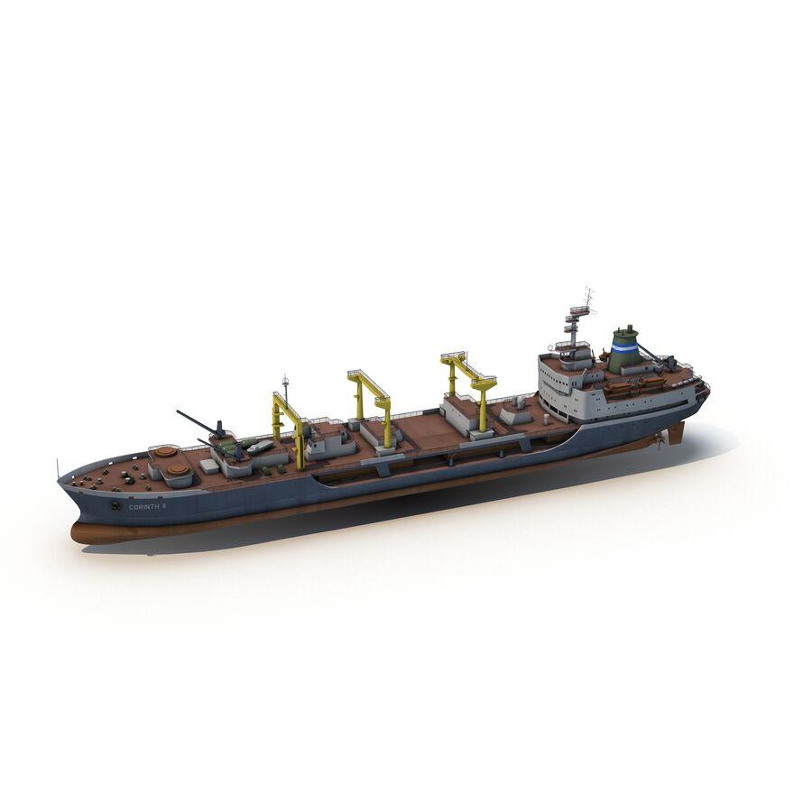 화물 화물선 VRay royalty-free 3d model - Preview no. 4