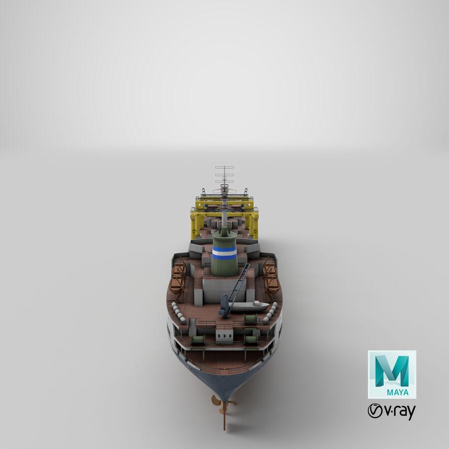 화물 화물선 VRay royalty-free 3d model - Preview no. 14
