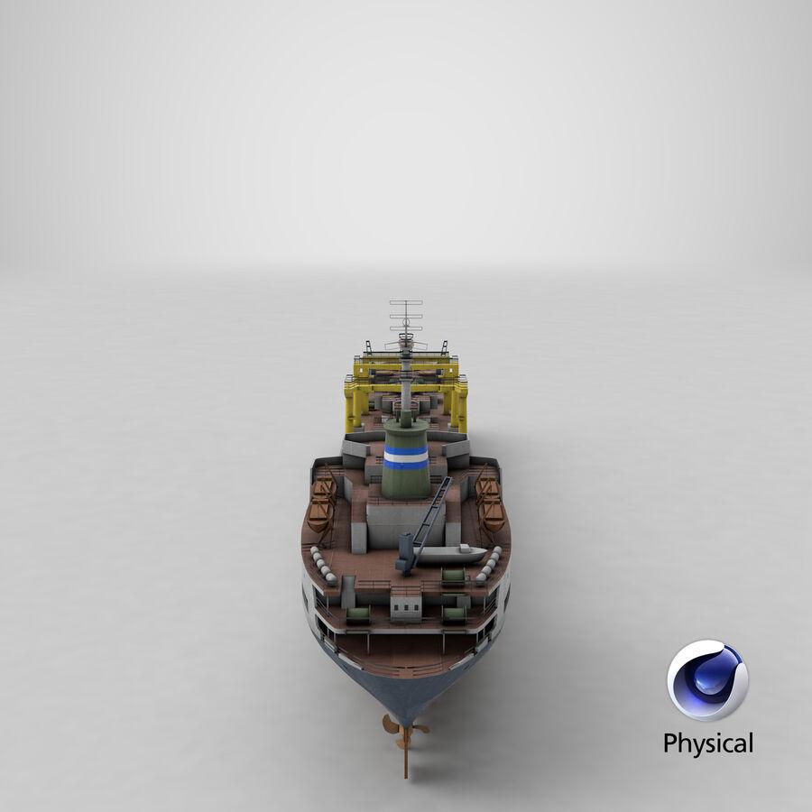 화물 화물선 VRay royalty-free 3d model - Preview no. 18