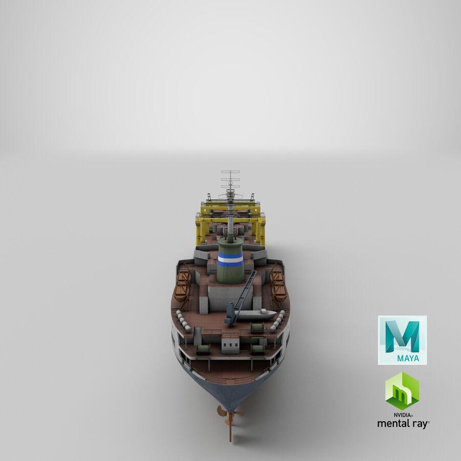 화물 화물선 VRay royalty-free 3d model - Preview no. 15