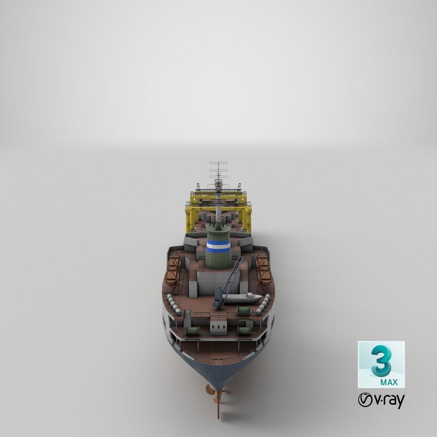 화물 화물선 VRay royalty-free 3d model - Preview no. 16