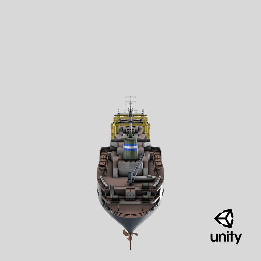 화물 화물선 VRay royalty-free 3d model - Preview no. 19