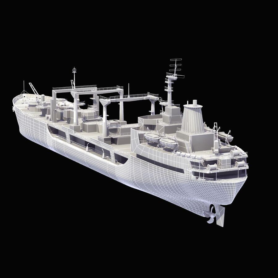 화물 화물선 VRay royalty-free 3d model - Preview no. 13