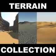 Kolekcja Terrain (2) 3d model