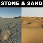 Terenowe pustynie 3d model