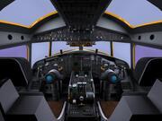Cockpit E-2C. 3d model