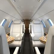 Intérieur de l'avion 3d model